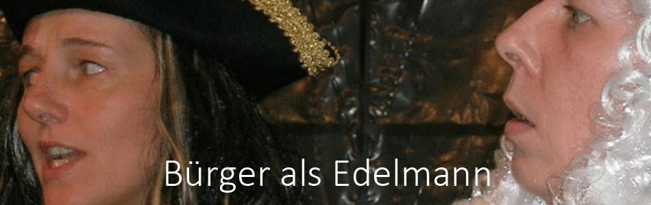 Bürger als Edelmann